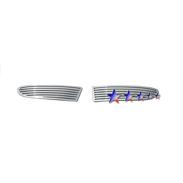 APS® Fog Light Chrome Perimeter Grille
