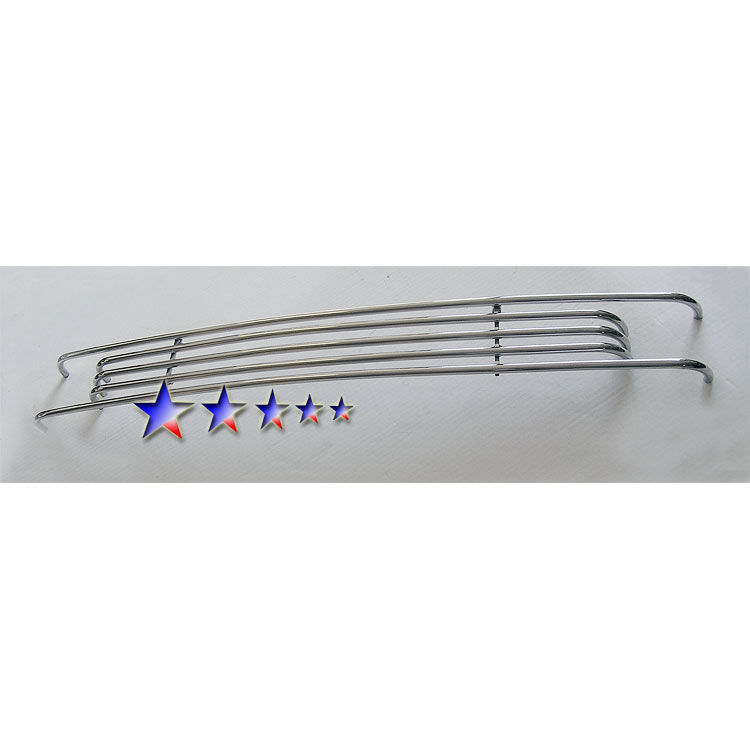 APS® Tow Hook Chrome Tubular Grille