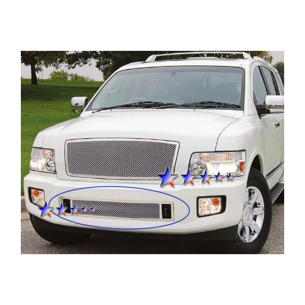 APS® Infiniti QX56 2004-2010 Lower Chrome Mesh Grille